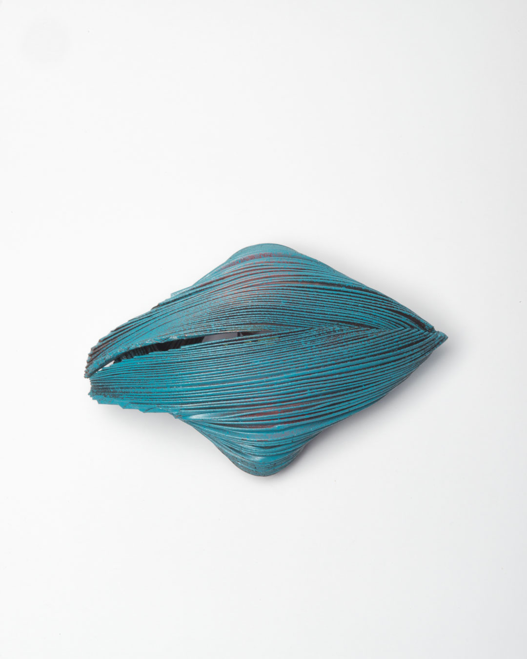 Li Liang, Nr. 7: Line, 2018, brooch; copper, 100 x 80 x 60 mm,€1650