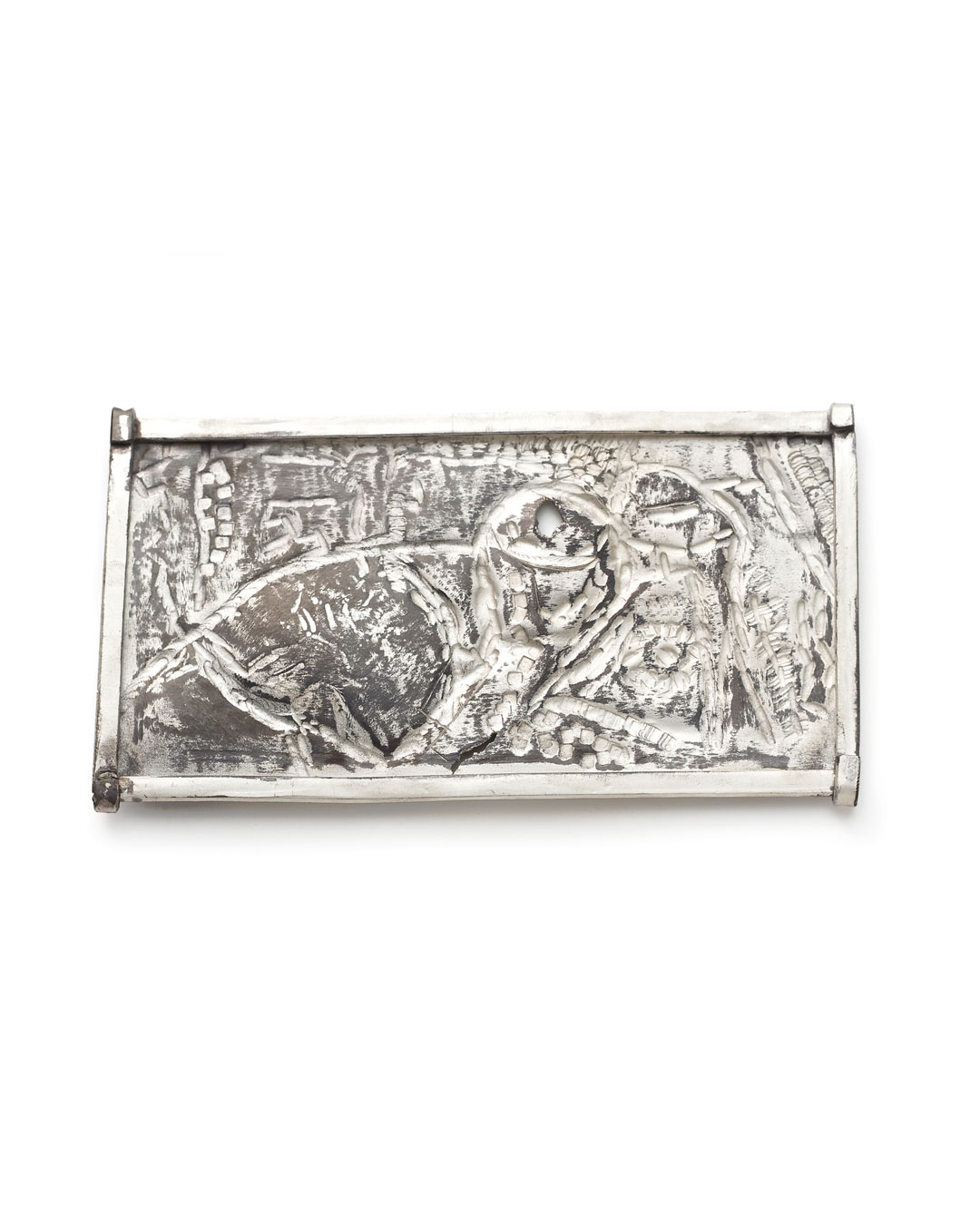 Rudolf Kocéa, Andreasfest (St. Andrew's Day), 2014, brooch; silver, copper, 60 x 115 x 8 mm, €1550