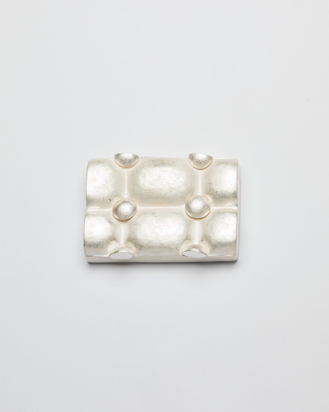 Christine Matthias, untitled, 2017, brooch; silver, 105 x 75 x 25 mm, €5200