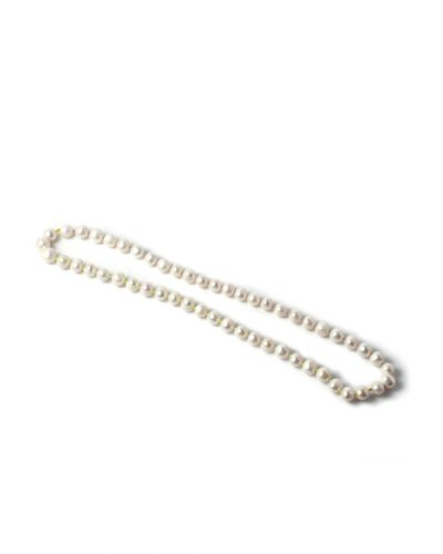 Lisa Walker, Pearl Necklace, 2020, necklace; freshwater pearls, cord, €1700