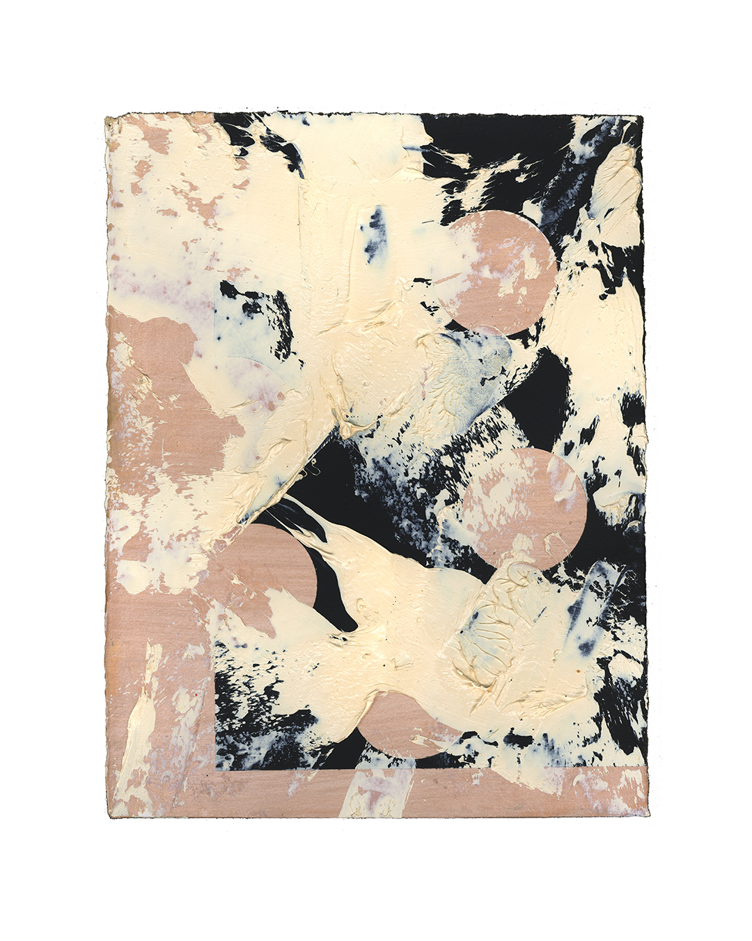 Piet Dieleman, untitled, 2020, painting, oil, tempera paint on paper, 380 x 290 mm, €930