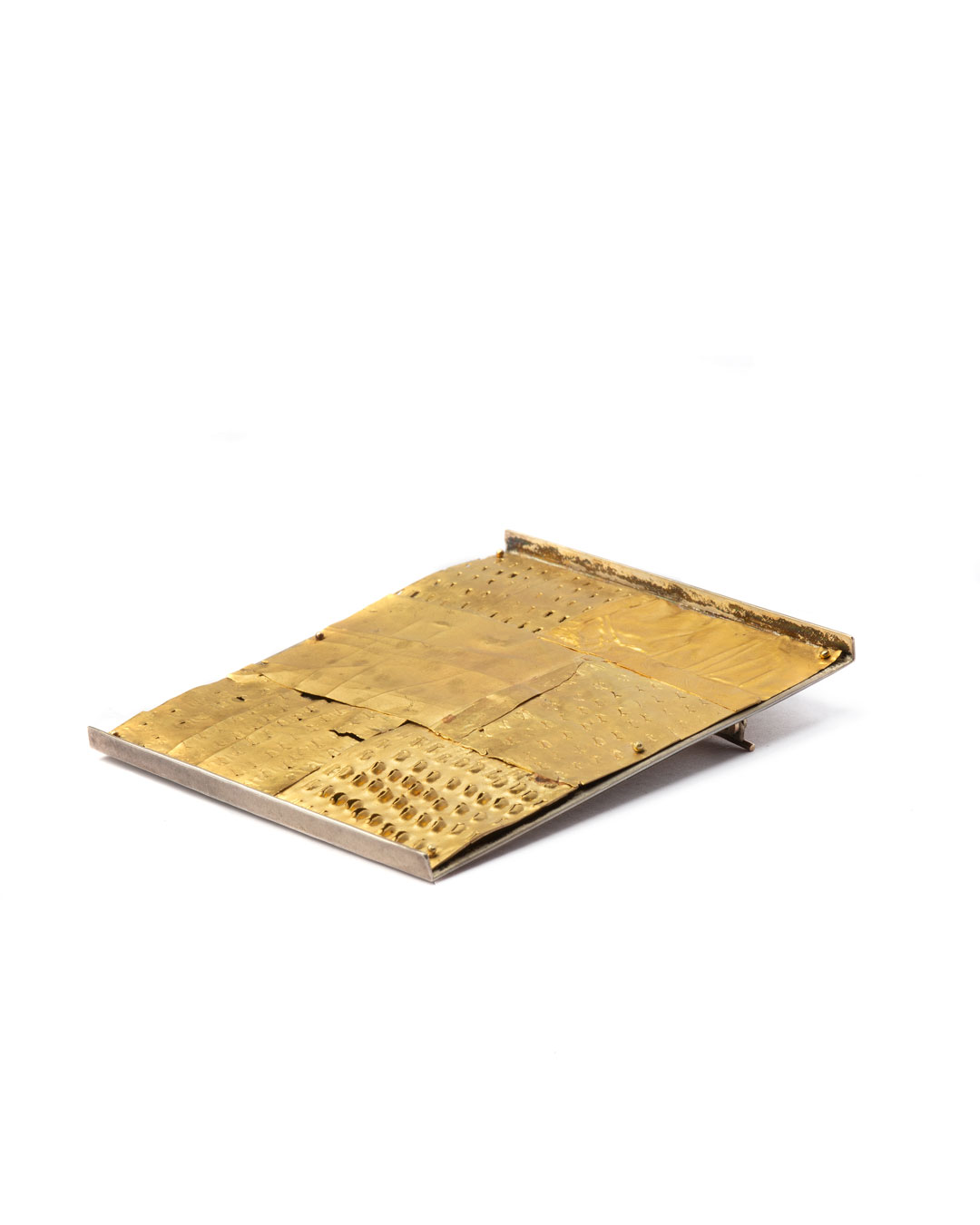 Stefano Marchetti, untitled, 2005, brooch; gold, silver, 63 x 54 x 6 mm, €6100 (picture 1 of 3)